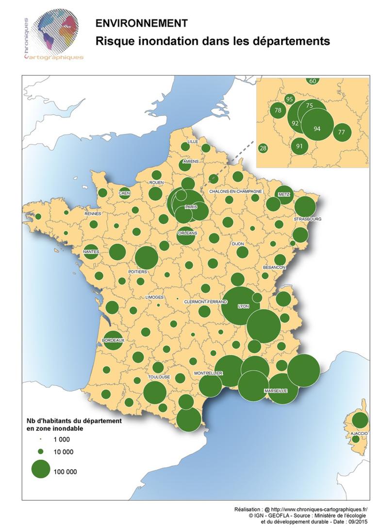 risque-inondation-dans-les-departements-français